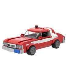 Juego de bloques de construcción modelo coche de ladrillos para niños, juguete de construcción con ladrillos modelo Starskys Hutch 1976 Grans, regalo para niños, 258 Uds.
