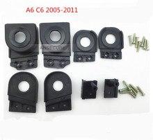 Çift far kafa lambası tamir kiti için ön sol sağ Audi A6 S6 Quattro C6 2005 2011 4F0998121 4F0998122