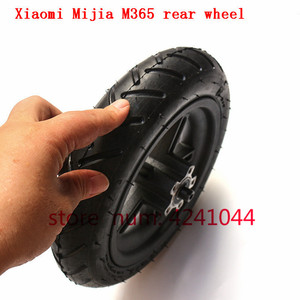 Image 5 - 8 1/2x2 tyre Pneumatic tire Inner Tube with alloy hub kit for Xiaomi Mijia M365 Electric Scooter Special purpose rear wheels