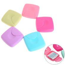 Портативная женская гигиеническая прокладка тампоны коробка для хранения конфеты цветной контейнер держатель