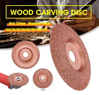 125mm Diameter 22mm Bore Tungsten Carbide Shaping Dish Wood Shaping Disc Wood Carving Disc Angle Grinder Disc|Power Tool Accessories| |  -
