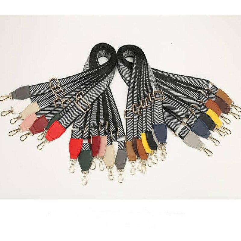 New Belting 3.8 Cm Wide Shoulder Strap Oblique Straddle Shoulder Strap Wide Shoulder Strap Accessories Women's Bag Replacement B