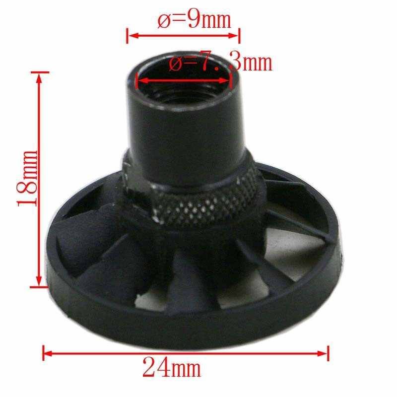 1pc M8x0.75 zdmuchiwacz pyłu wentylator Collet Metric Purging nakrętka mały elektryczny młynek akcesoria do elektronarzędzi części