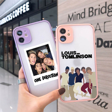 JAMULAR One Direction Louis Tomlinson Phone Case For iPhone 11 Pro 12 7 XS MAX X XR SE20 8 6 Plus Harry Style Clear Cover Fundas