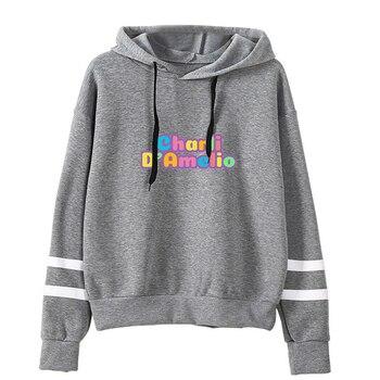 charli damelio merch Sweatshirt Men/Women Print Ice Coffee Splatter Hoodies Fashion Hip Hop hoodie Pullovers Tracksuit Clothes 15