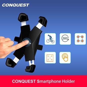 Перейти на Алиэкспресс и купить Автомобильный держатель для телефона 2020 CONQUEST в Bycycle GPS с вентиляционным отверстием, автомобильный держатель для телефона для CONQUEST S6/S8/S9/S11/S12/...