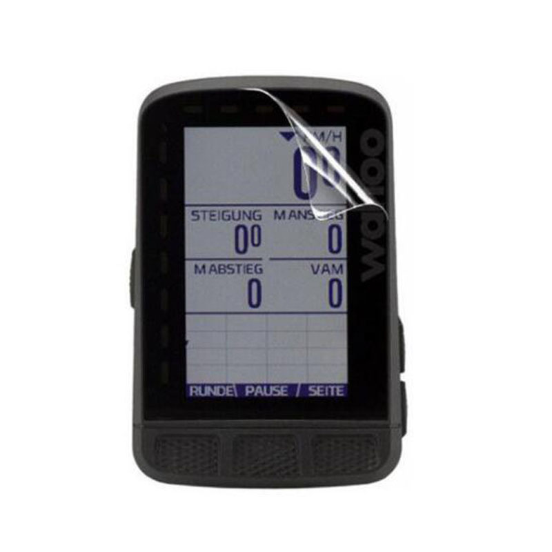 Airglass chars Film Mat Pour Wahoo satisfaire Bolt GPS Ultra Souple Protection chars