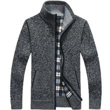 2020 Autumn Winter Men SweaterCoat Mens Zipper Knitted Sweat