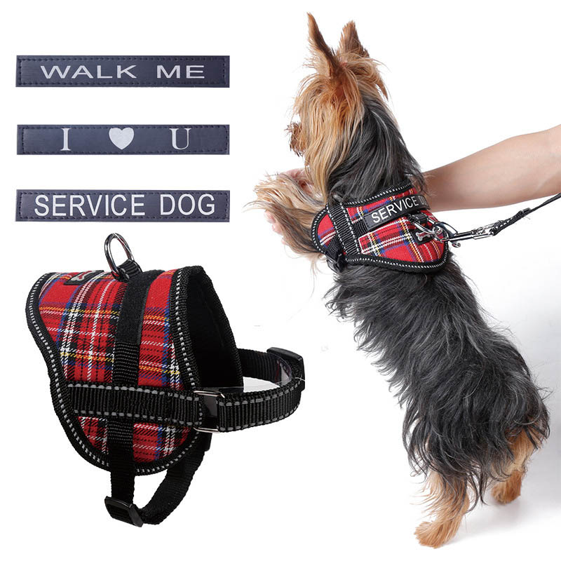 Pet Dog Cat Leash Harness Reflective Vest Nylon Mesh Puppy Cat Harnesses Collar Service Dog Walking Lead Leashes For Chihuahua
