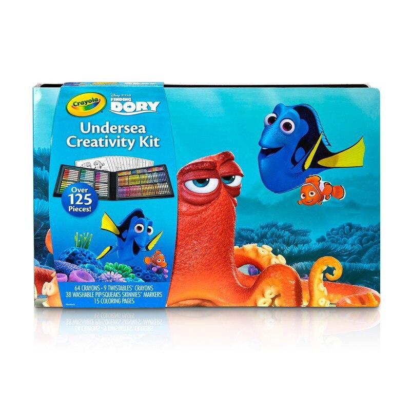 Crayola Finding Dory Art Treasures Gift Box Painting Kit 04-2015