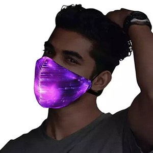 Cosplay Mask 7 Colors LED Rave