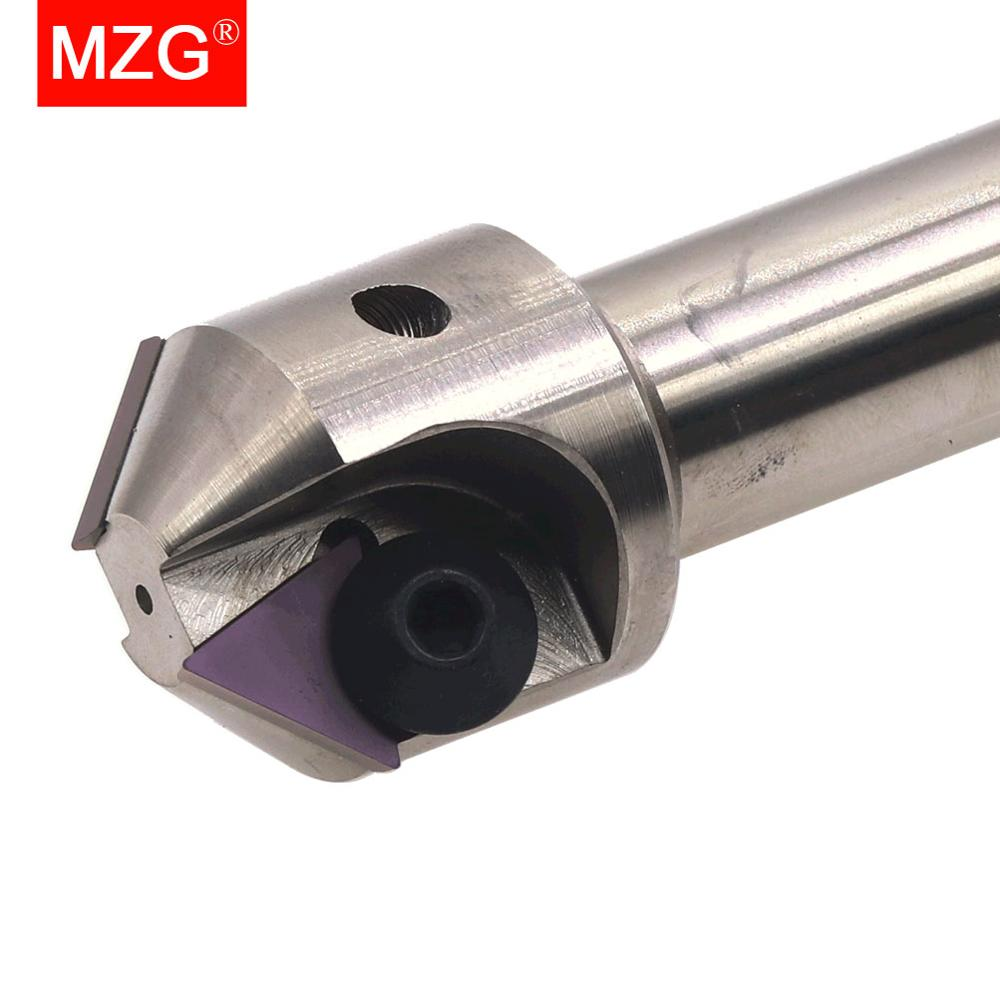 MZG TP 30 <font><b>45</b></font> <font><b>60</b></font> Degree CNC Lathe Machining Tungsten Steel Milling Cutter Inserts Holder End Mill Drill Chamfering Tools image