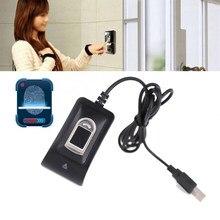 Lector de huellas dactilares USB compacto, lector de Control de acceso biométrico fiable, sistema de asistencia, sensor de huella dactilar, lector de huella