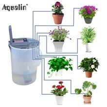 ガーデン DIY 散水システムホーム点滴灌漑ポンプコントローラ屋内植物のための使用、 Bonsia #22018 グレー