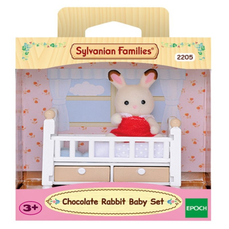 Sylvanian Families Toy Forest Chocolate Rabbit Baby Furniture Set GIRL'S Play House Doll 5017