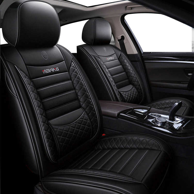 Bmw 1 Series Coupe Heavy Duty Waterproof Front Seat Covers Protectors Black