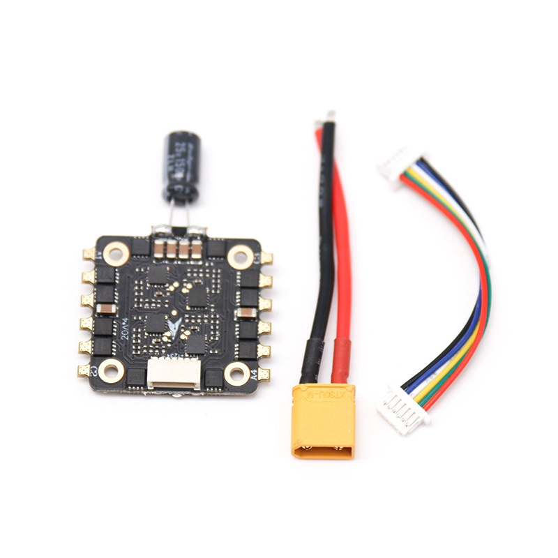 4 IN 1 20A Blheli S 2-4S DSHOT600 <font><b>Brushless</b></font> ESC Speed Controller Board for <font><b>FPV</b></font> RC Racing <font><b>Drone</b></font> RC <font><b>Drone</b></font> Spare Parts image