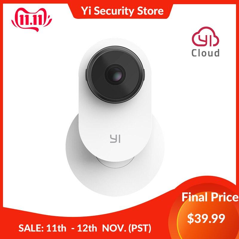 Yi casa câmera 3 1080 p ai-powered sistema de vigilância de segurança indoor casa cam suporte magnético detecção humana 2-way áudio nuvem