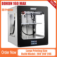 DDKUN 160 MAX BIG Size 3D Printer Build volume 200*200*205mm shipping from China