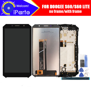 Image 1 - 5.2 inch Doogee S60 LCD Display+Touch Screen Digitizer Assembly 100% Original New LCD+Touch Digitizer for S60 LITE+Tools