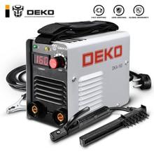DEKO DKA-160 160A 4.1KVA IP21S инвертор дуговой Электрический сварочный аппарат MMA сварочный аппарат для сварочных работ и электрических работ