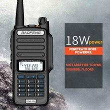 2020 UV 9R زائد مقاوم للماء IP68 اسلكية تخاطب عالية الطاقة CB لحم الخنزير 50 20 كجم طويلة المدى UV9R المحمولة اتجاهين راديو الصيد