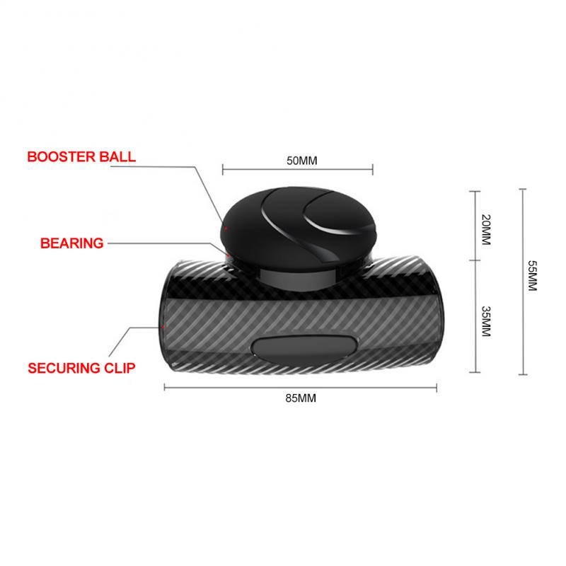 Hf36603716099449080957b5f3b320a85O - 360° Steering Wheel Knob Ball Car Steering Wheel Spinner Knob Power Handle Ball Booster Wheel Strengthener Auto Spinner Knob