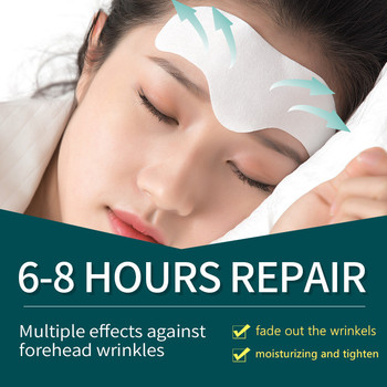 Forehead Line Removal Anti-wrinkle Stickers Frown Lines Treatment Anti-aging Lifting Mask Moisturizng Patch Skin Care Facial Pad