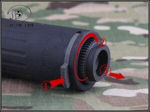 Image 2 - 2019 كبيرة التنين AAC M4 2000 كاتم الصوت ديلوكس CNC و اطل بأكسيد عملية