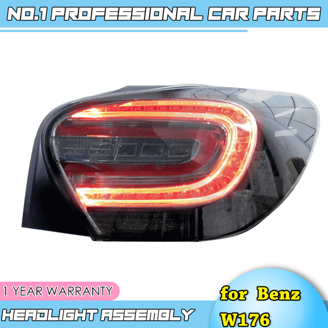 car accessories for Mercedes Benz W176 taillight lamp 2014 2015 for A180 A200 A220 A260 led rear lamp led taillight