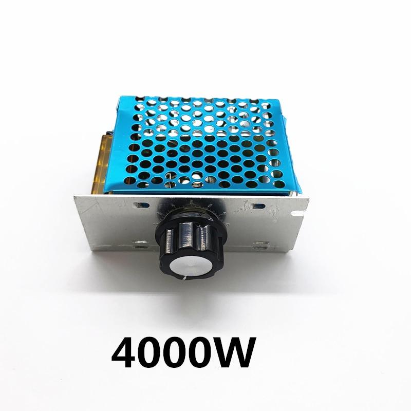 AC 220V 4000W SCR Voltage Regulator Dimming Dimmers Motor Speed Controller Thermostat Electronic Voltage Regulator Module