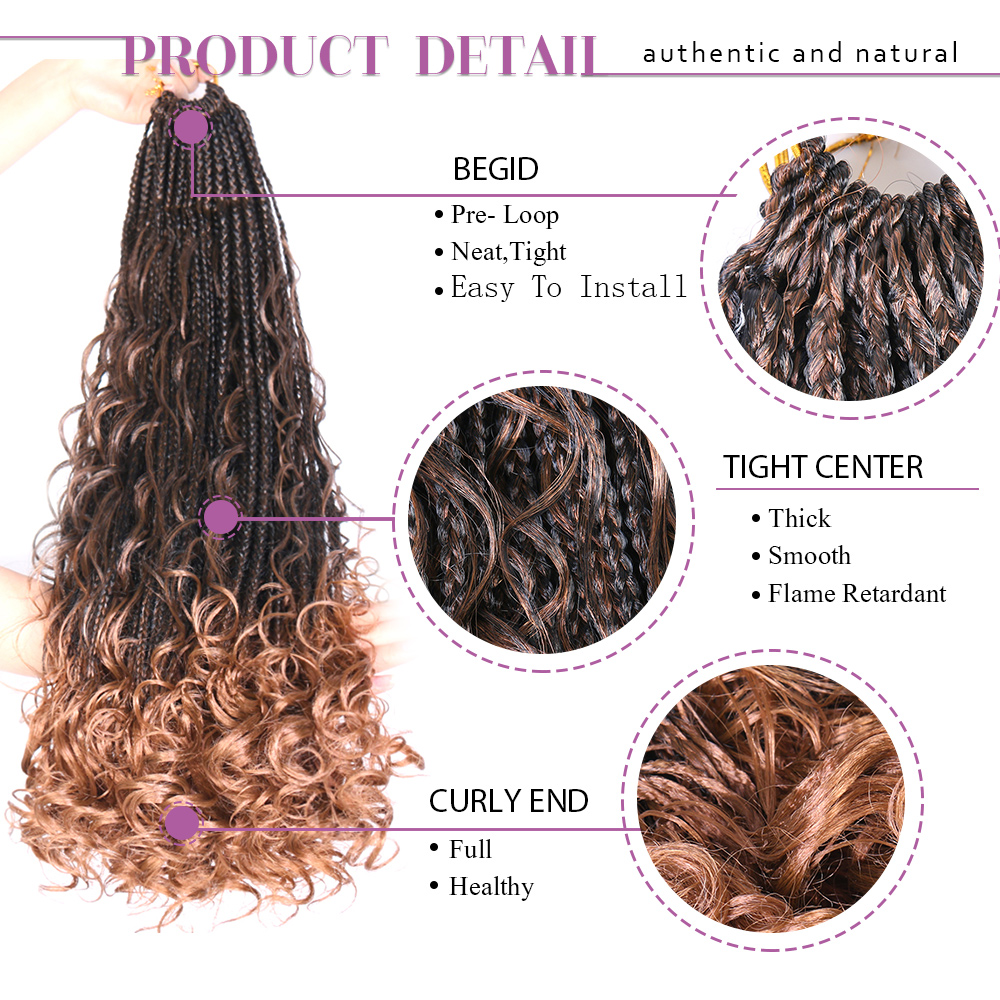 £Top SaleBraids Crochet Heat-Extensions Water-Wave-Hair Curly Synthetic-Box Long Women 24inch⌐