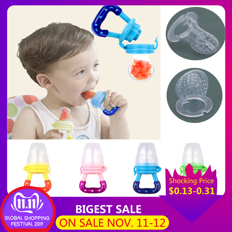 Safe Baby Fresh Fruit Food  Nipple Feeding Fresh Fruit Pacifier Safe Milk Feeder Baby Bottles Nipple Teat Fresh Fruit
