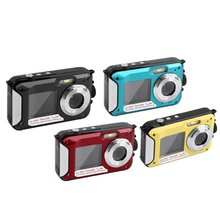 2.7inch TFT Digital Camera Waterproof 24MP/48MP MAX 1080P Double Screen 16x Digital Zoom Ca