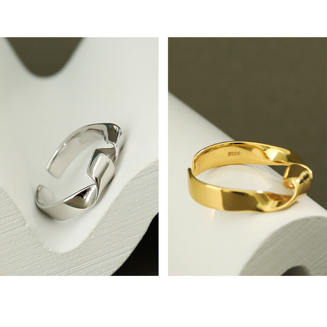 Фото женское кольцо из серебра 925 пробы в минималистическом стиле цена