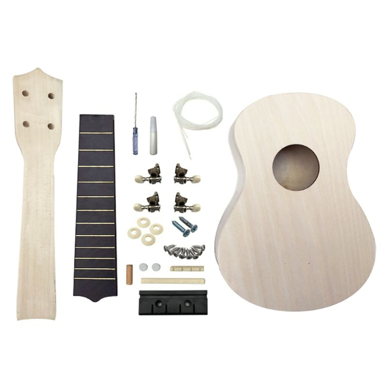 DIY Ukulele Make Your Own Ukulele Hawaii Ukulele Kit