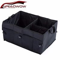 SPEEDWOW universel étanche voiture coffre organisateur Auto camions SUV boîte intérieur rangement organisateur conteneur arrimage et rangement