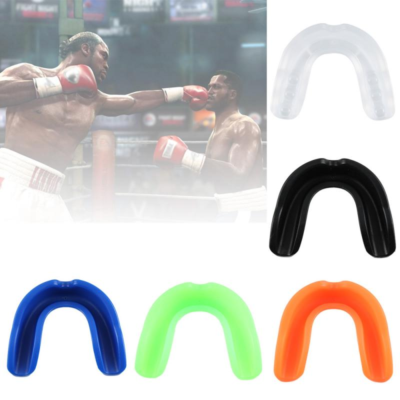 NEW 1 Pcs Sports Mouthguard Mouth Guard Teeth Cap Protect For MMA Boxing Basketball Teeth Guard Gum Shield Teeth Protect