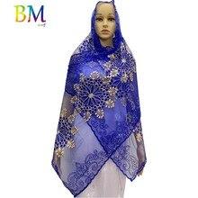 African women scarf muslim women scarf 200*50cm small net scarf for shawls BX08