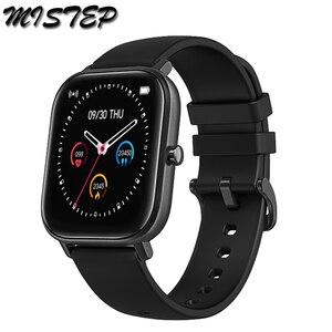 Image 1 - 전체 화면 터치 P8 스마트 시계 팔찌 남성 여성 스포츠 더 많은 시계 얼굴 심장 박동 모니터 수면 모니터 IP67 Smartwatch