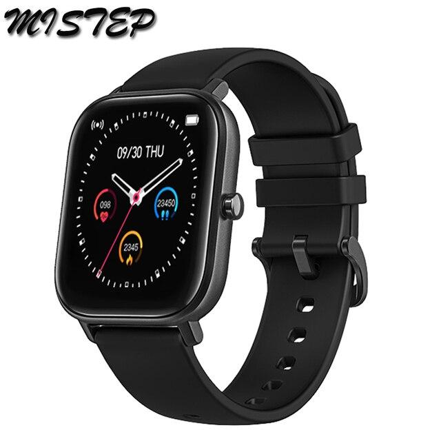 전체 화면 터치 P8 스마트 시계 팔찌 남성 여성 스포츠 더 많은 시계 얼굴 심장 박동 모니터 수면 모니터 IP67 Smartwatch