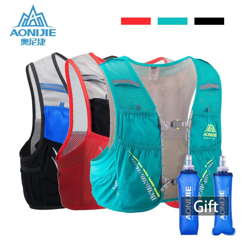 AONIJIE Hydration Pack Backpack Rucksack Bag Vest Harness Water Bladder Hiking Camping Running Marathon Race Climbing 5L Bag