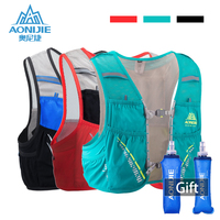 AONIJIE Hydration Pack Backpack Rucksack Bag Vest Harness Water Bladder Hiking Camping Running Marathon Race Climbing 5L Bag