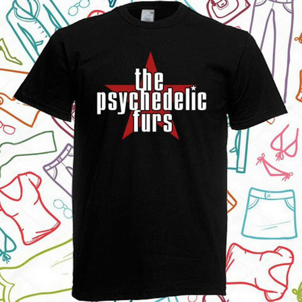 The Psychedelic Furs We Love You Rock Punk 80s Cool T Shirt B299