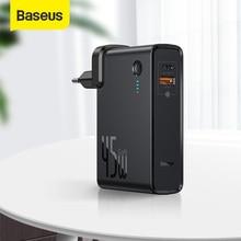 Powerbank Portable Battery Gan Charger Laptop Baseus 10000mah iPhone 11 Pro 2-In-1 Usb-C-Pd