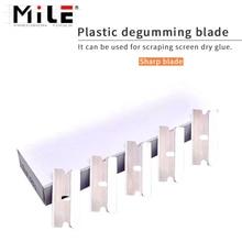 Squeegee Scraper Glue-Remover Razor Cleaning-Tool Double-Edged MILE 100pcs Vinyl-Film-Sticker