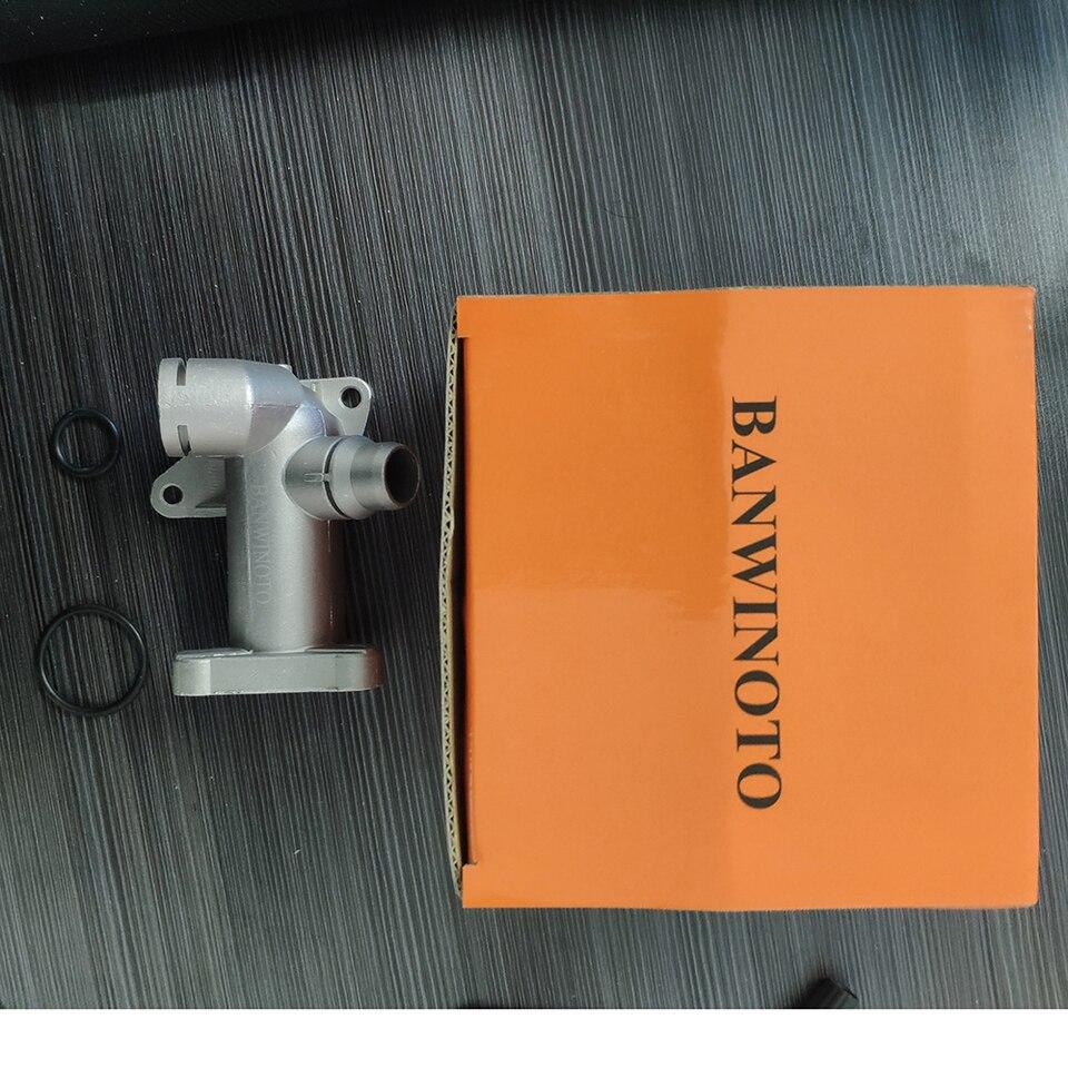 New Coolant Hose Outlet Flange Connector For Audi A4 VW Passat 1.8T 058121132A