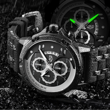 Luxury Brand Men Watch LIGE Waterproof Quartz Watch