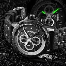 Luxury Brand Men Watch LIGE Waterproof Quartz Watch