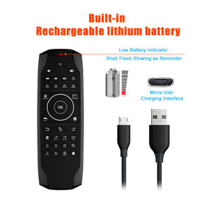 Image 5 - G7 Win10 GYRO Air Mouse QWERTY Keyboard LED Backlit Mini Keyboard 6 Axis Gyro TV Remote control for Win 10 Laptop Mini PC HTPC